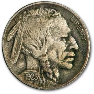 1923 Buffalo Nickel XF