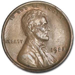 1923 Lincoln Cent AU
