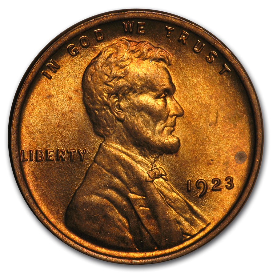 1923 Lincoln Cent BU (Red)