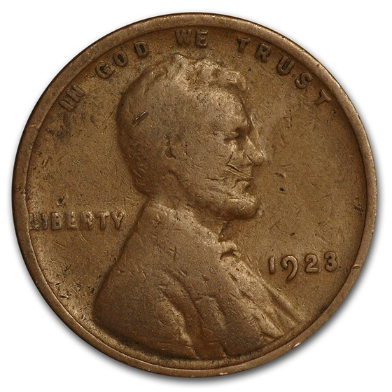 1923 Lincoln Cent Good/VF