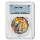 1923 Peace Dollar MS-61 PCGS (Beautifully Toned)