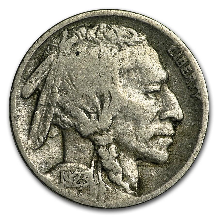 1923-S Buffalo Nickel Fine