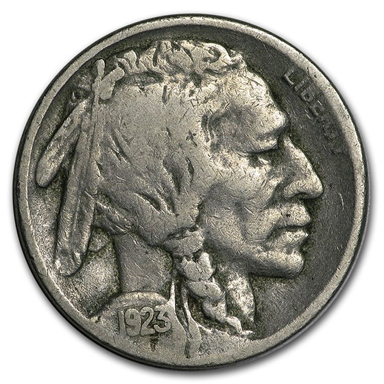 1923-S Buffalo Nickel VG