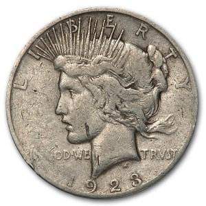 1923-S Peace Dollar - Love Token - Lawrence Klein