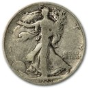 1923-S Walking Liberty Half Dollar Good/VG