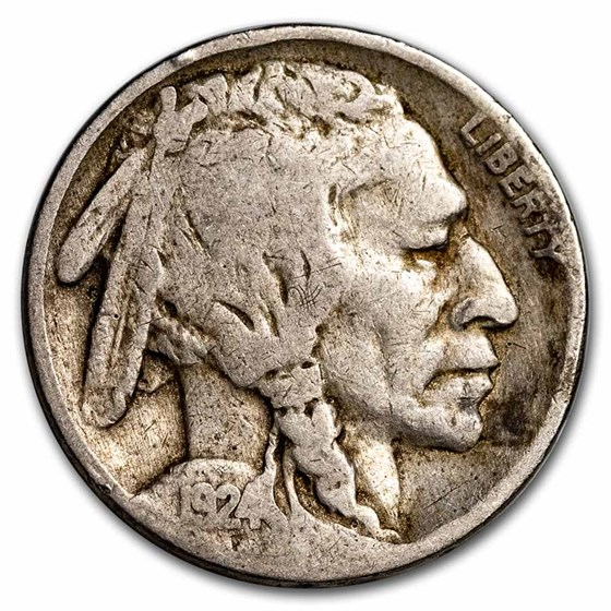 1924 Buffalo Nickel Fine