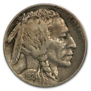 1924 Buffalo Nickel VF