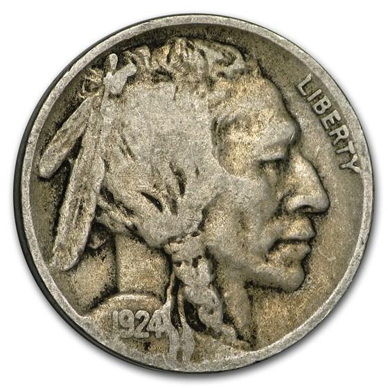 1924-D Buffalo Nickel Fine