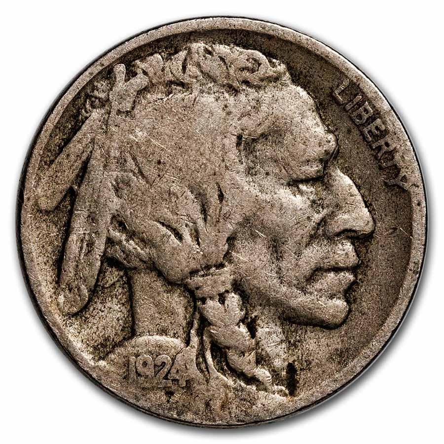 1924-D Buffalo Nickel Good