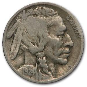 1924-D Buffalo Nickel VG
