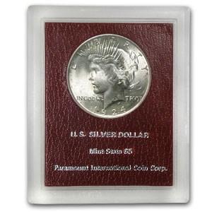 1924 Peace Dollar MS-65 (Redfield Hoard)