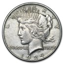 1924 Peace Dollar XF