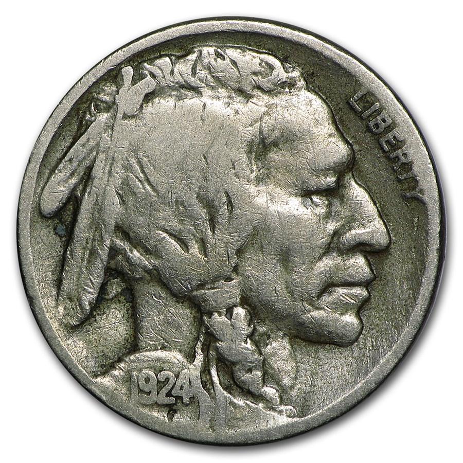 1924-S Buffalo Nickel Fine