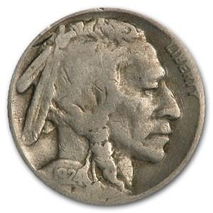 1924-S Buffalo Nickel Good