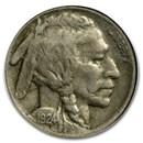 1924-S Buffalo Nickel XF