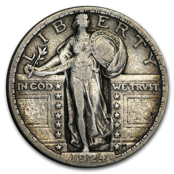 1924 Standing Liberty Quarter Fine