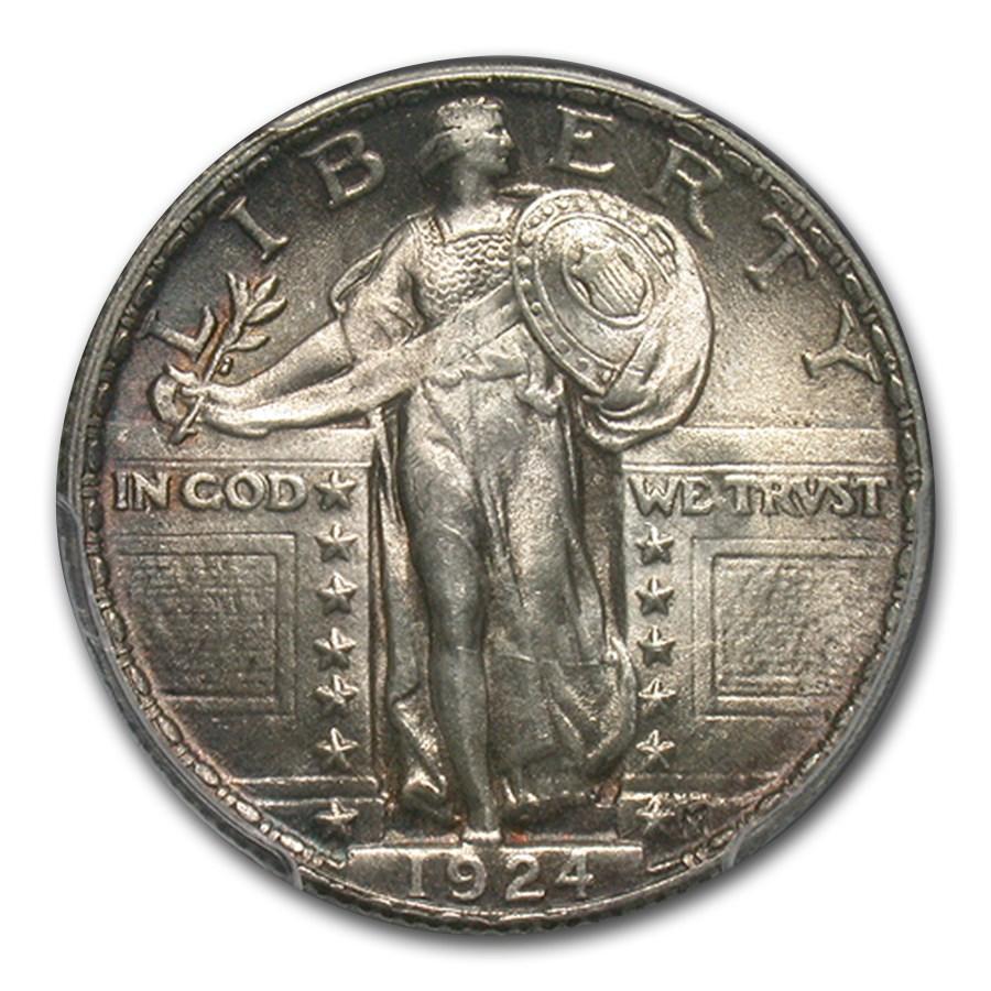 1924 Standing Liberty Quarter MS-64 PCGS