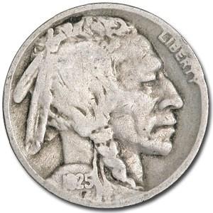 1925 Buffalo Nickel Good+