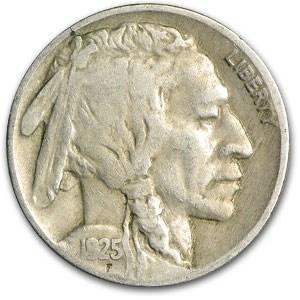1925 Buffalo Nickel VF