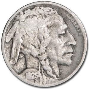 1925-D Buffalo Nickel Good