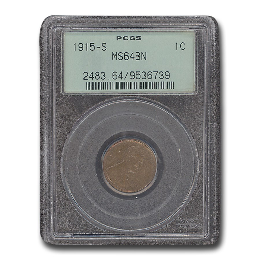 1925-D Lincoln Cent MS-63 PCGS CAC (Red/Brown)