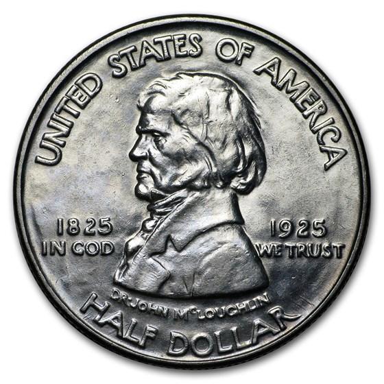 1925 Fort Vancouver Half Dollar BU