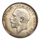 1925 Great Britain Silver Half Crown George V MS-63 NGC