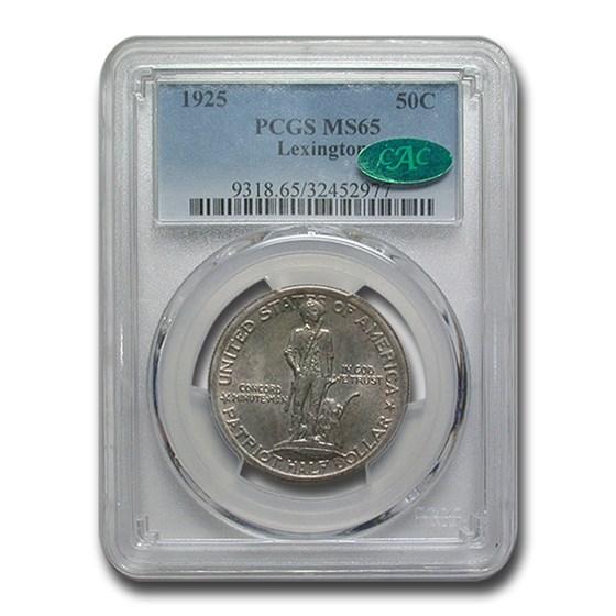 1925 Lexington Concord Sesqui Half Dollar MS-65 PCGS CAC