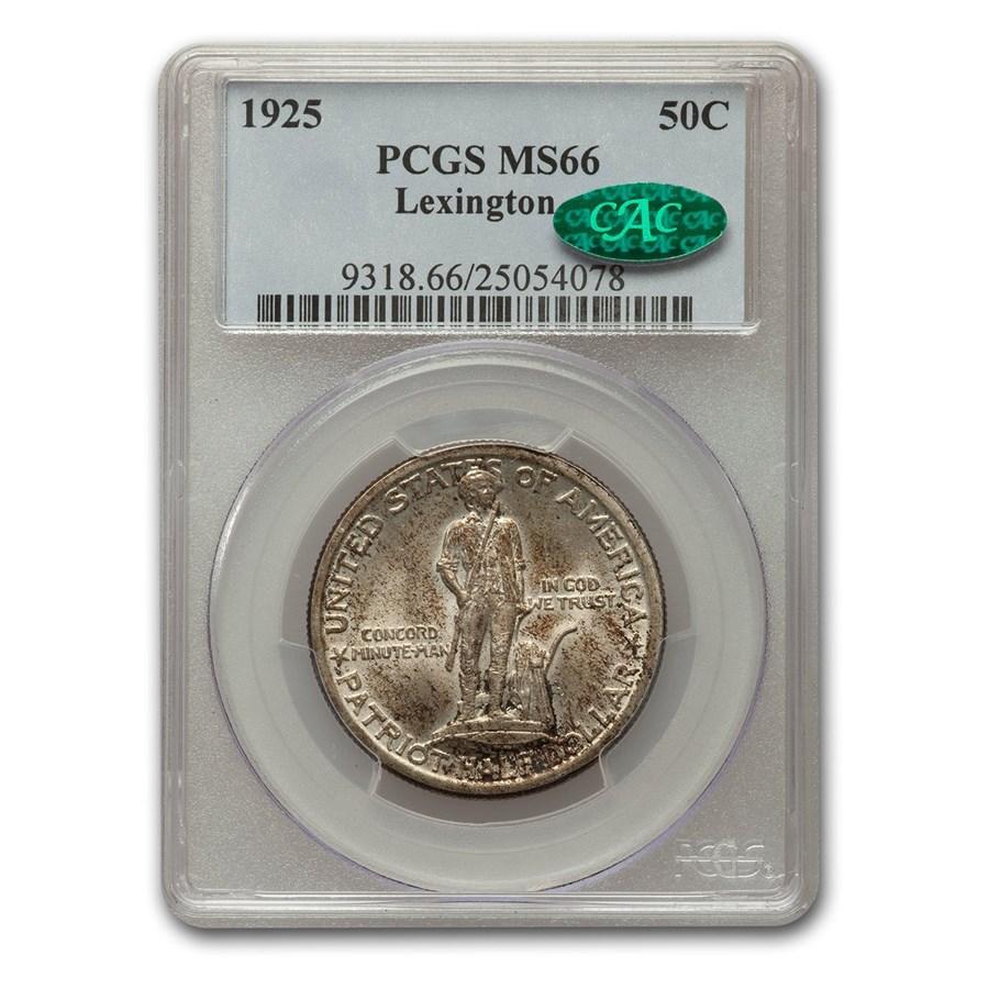 1925 Lexington Concord Sesqui. Half Dollar MS-66 PCGS CAC