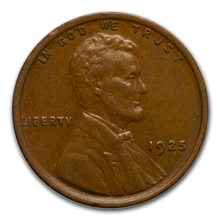 1925 Lincoln Cent XF