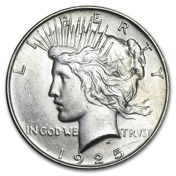 1925 Peace Dollar BU