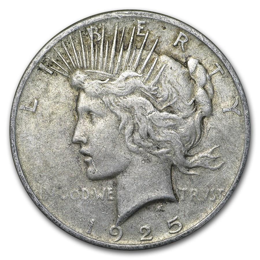 1925 Peace Dollar VG/VF