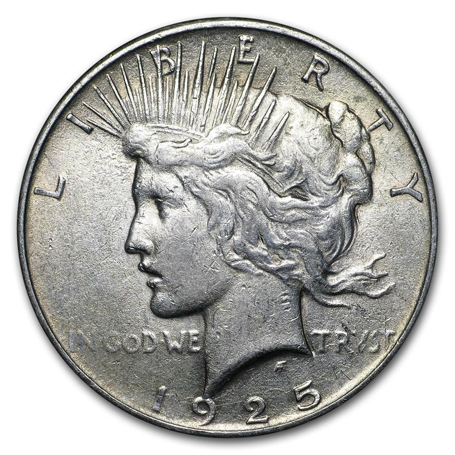 1925 Peace Dollar XF