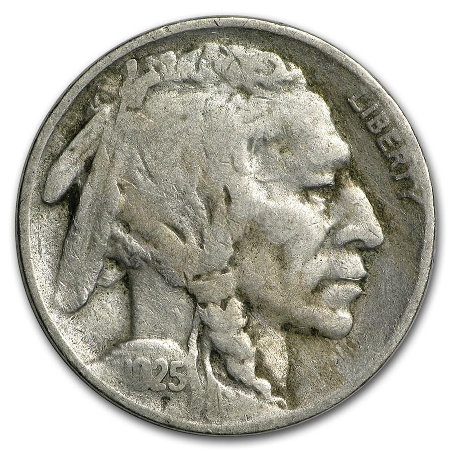 1925-S Buffalo Nickel Fine