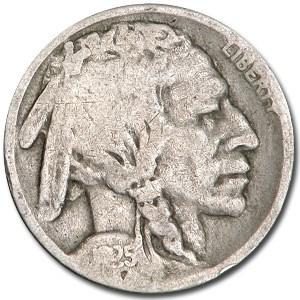 1925-S Buffalo Nickel Good