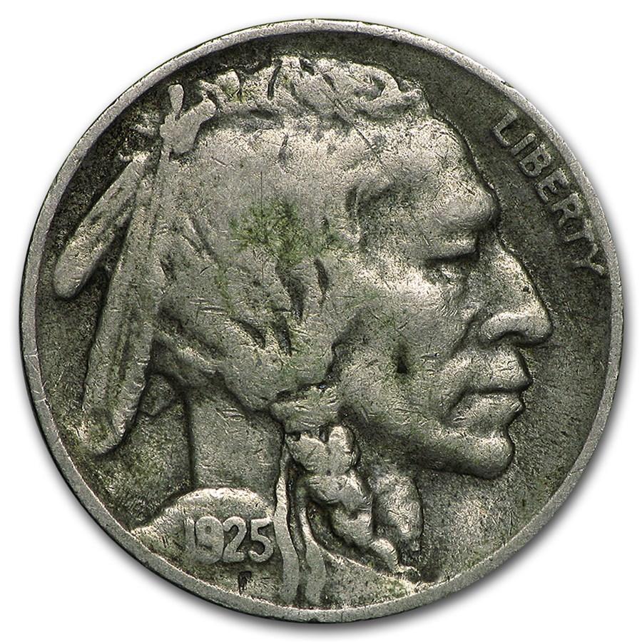 1925-S Buffalo Nickel VF