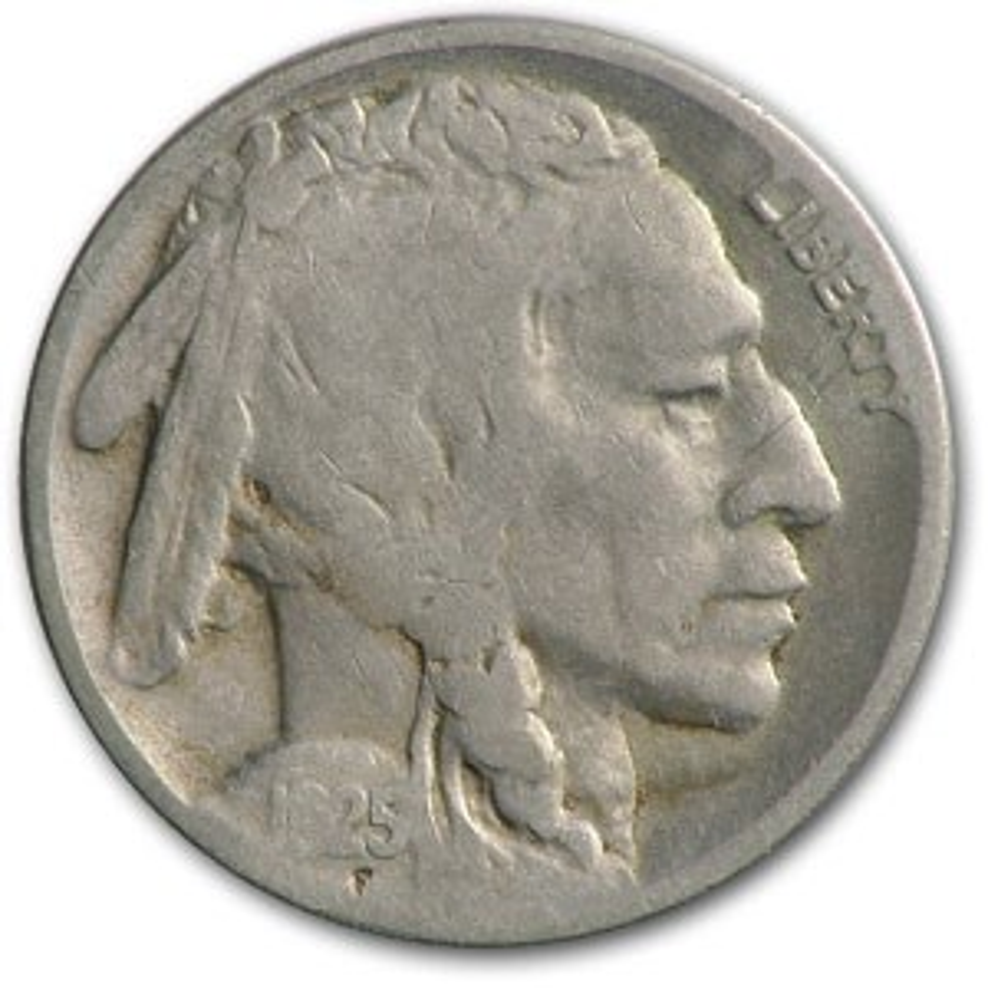 1925-S Buffalo Nickel VG