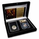1925-S California Diamond Jubilee and Prospector Gold Dust Set
