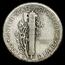 1925-S Mercury Dime XF
