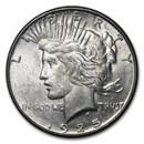 1925-S Peace Dollar AU