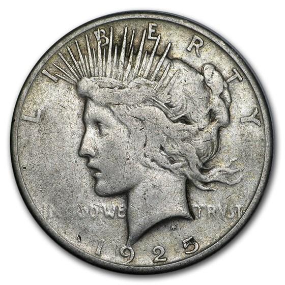 1925-S Peace Dollar VG/VF