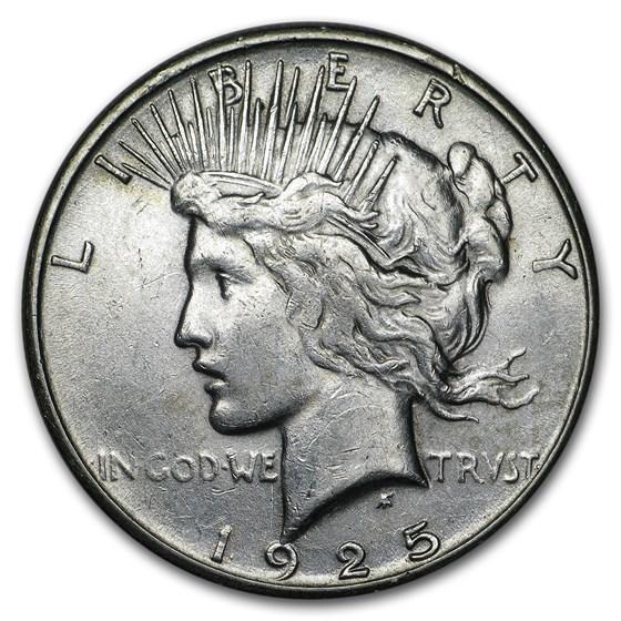1925-S Peace Dollar XF