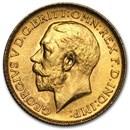 1925-SA South Africa Gold Sovereign George V BU