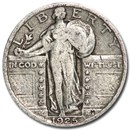 1925 Standing Liberty Quarter Good/VG