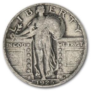1925 Standing Liberty Quarter VF