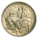 1925 Stone Mountain Commemorative Half Dollar AU