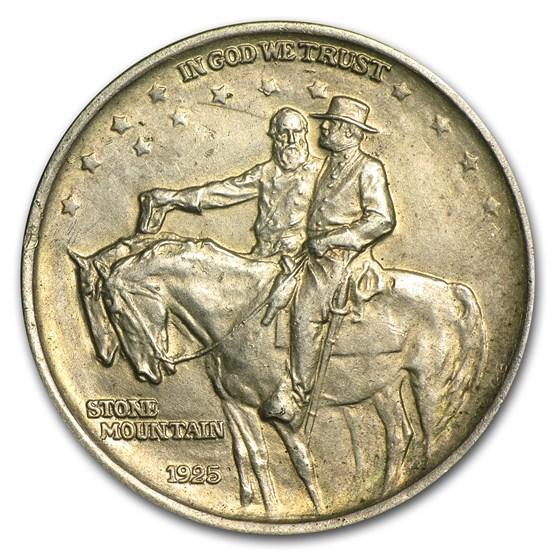 1925 Stone Mountain Commemorative Half Dollar AU