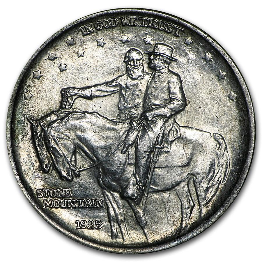 1925 Stone Mountain Commemorative Half Dollar BU