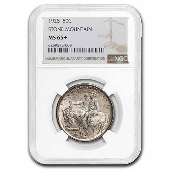 1925 Stone Mountain Memorial Half Dollar MS-65 NGC