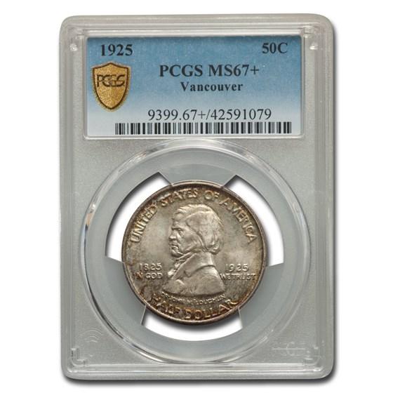 1925 Vancouver Half Dollar MS-67+ PCGS